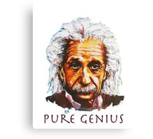 An Einstein Tribute Canvas Print