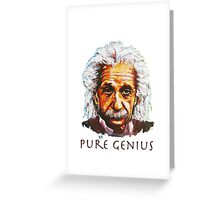 An Einstein Tribute Greeting Card