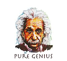 An Einstein Tribute Photographic Print
