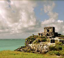 Las Ruinas de Tulum IV by Valerie Rosen