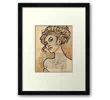 Iron Woman 5 Framed Print