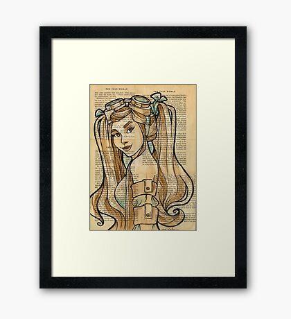 Iron Woman 4 Framed Print