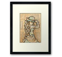 Iron Woman 3 Framed Print