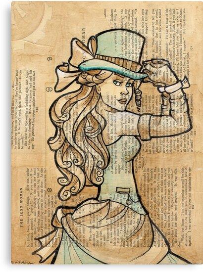 Iron Woman 3 by Karen  Hallion