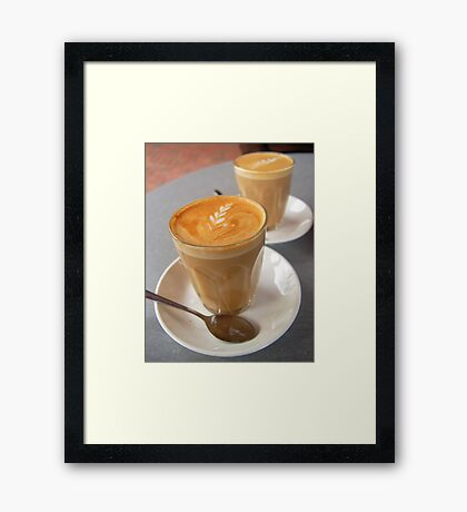 A Perfect Saturday Afternoon... Framed Print