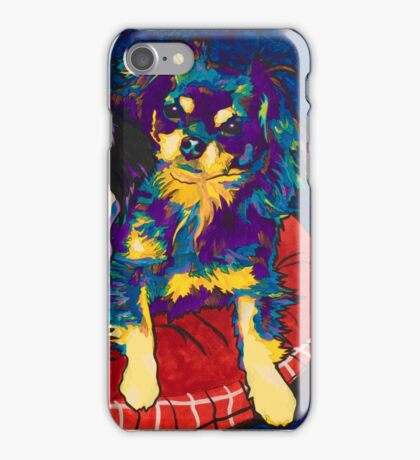 Spectra Dexter and Harvey by Asra Rae iPhone Case/Skin