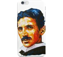 Nikola Tesla Tribute iPhone Case/Skin