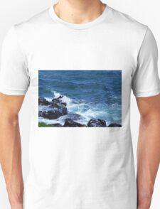 Waves on the Rocks Unisex T-Shirt