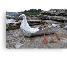 Bird/Boat, Sculptures By The Sea, Australia 2012 Canvas Print