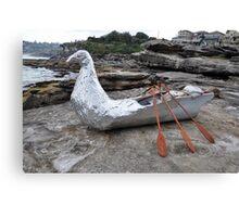 Bird/Boat, Sculptures By The Sea, Australia 2012 Canvas Print
