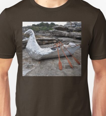 Bird/Boat, Sculptures By The Sea, Australia 2012 Unisex T-Shirt