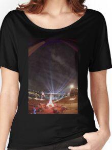 Light Show, Sydney, Australia 2004 Women's Relaxed Fit T-Shirt