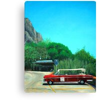 Taxi sir? Canvas Print