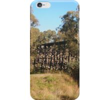 The HistoricTrestle Bridge, Pyalong Vic Australia iPhone Case/Skin