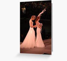 Helpful Bride Greeting Card