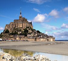 le Mont St-Michel by Hertsman