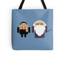 Harry Pottroid and Dumbledroid Tote Bag