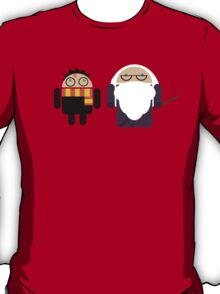Harry Pottroid and Dumbledroid T-Shirt