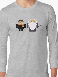 Harry Pottroid and Dumbledroid Long Sleeve T-Shirt