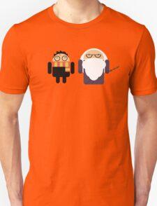 Harry Pottroid and Dumbledroid Unisex T-Shirt
