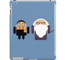 Harry Pottroid and Dumbledroid iPad Case/Skin