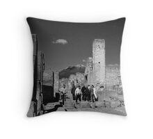 Pompeii And Vesuvius III Throw Pillow