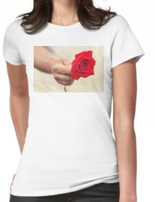 To My Love Womens Fitted T-Shirt