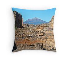 Pompeii And Vesuvius IV Throw Pillow