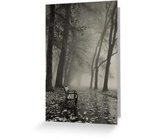 Foggy Greeting Card