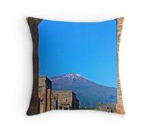 Pompeii And Vesuvius V Throw Pillow