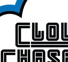 Cloud Chaser (blue) Sticker