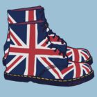 Union Jack Doc Boots by Auslandesign