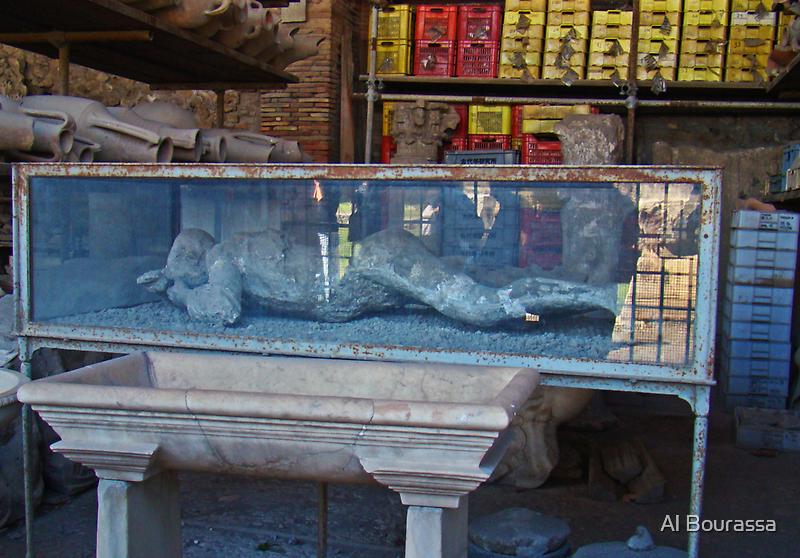 Death Throes III, Pompeii 79AD by Al Bourassa