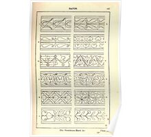 A Handbook Of Ornament With Three Hundred Plates Franz Sales Meyer 1896 0163 Bands Vertebrate Poster
