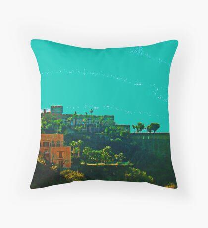 Italian Castle Throw Pillow