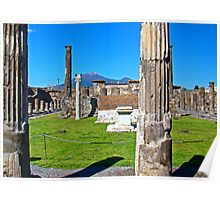 Pompeii And Vesuvius VI Poster