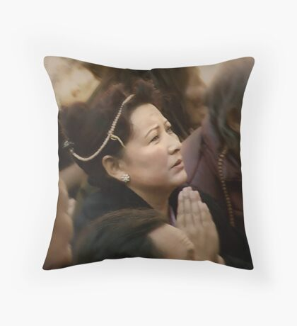 Prayer for Deliverence Throw Pillow