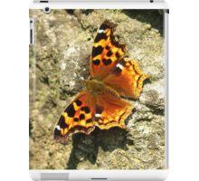 Compton Tortoiseshell Butterfly iPad Case/Skin