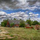 Rats Castle Farmyard  by Nigel Bangert