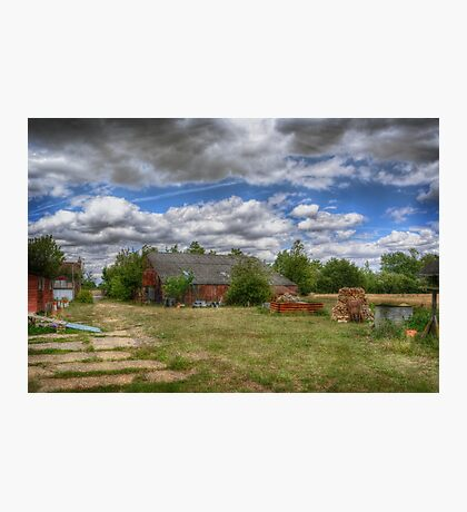 Rats Castle Farmyard  Photographic Print