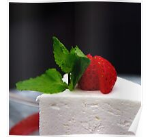 Cheese cake Poster