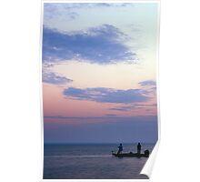 Fishing Near Conger Bay Poster