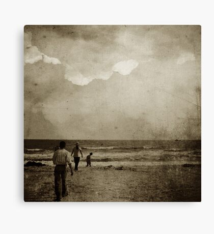 lead us to the water Canvas Print