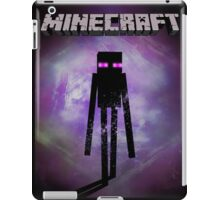 Minecraft Fan Poster - Ender Man iPad Case/Skin