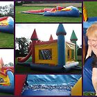 Moonbounce Slider Fun by Debbie Robbins