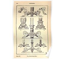 A Handbook Of Ornament With Three Hundred Plates Franz Sales Meyer 1896 0236 Supports Candelabrum Base Poster