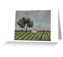 Chateauneuf Vineyard  Greeting Card