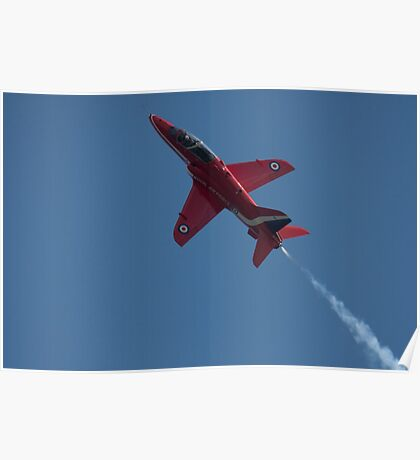 RAF Red Arrow Poster