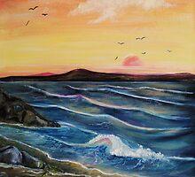 Seaweed and Rock pools by Susie Hawkins