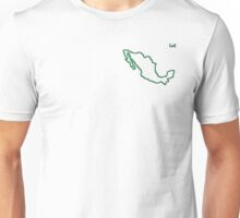 """Mexico """"Citizen of the Earth"""" small Unisex T-Shirt"""